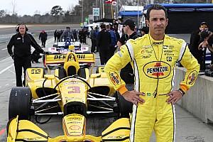IndyCar Crónica de test Newgarden lidera la práctica en  Barber; Castroneves regresó