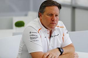 Zak Brown szerint a McLaren 8-9 tizedre van a Red Bulltól