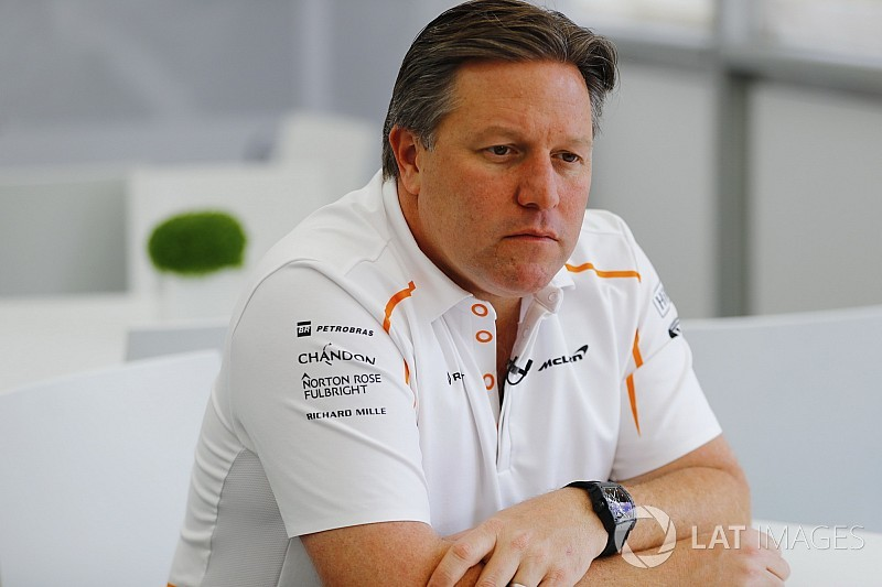 Brown takes F1 CEO role in McLaren restructuring
