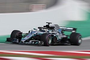 F1 测试报告 巴塞罗那测试第二日:博塔斯做出本轮最快时间