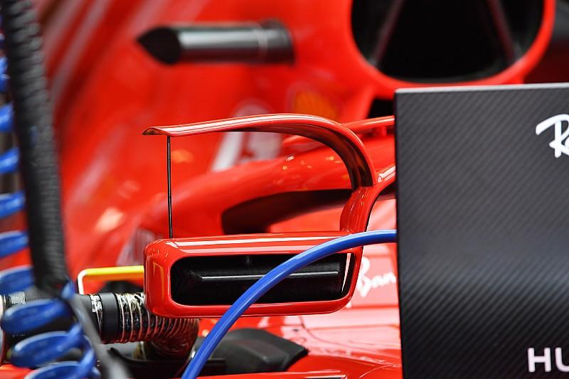 FIA proíbe uso de aletas no retrovisor da Ferrari