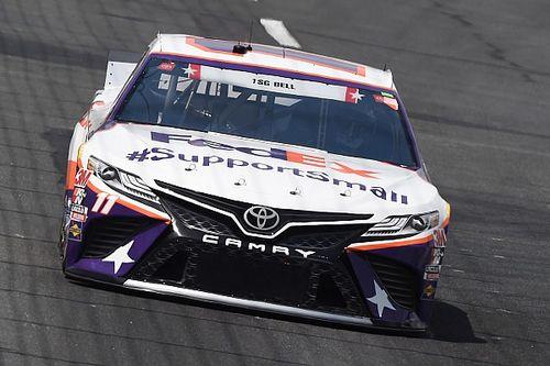 NASCAR suspends Hamlin's crew chief, car chief and engineer