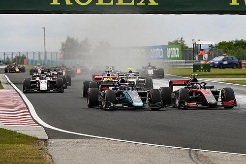 Уволенный из Red Bull гонщик одержал победу в Формуле 2
