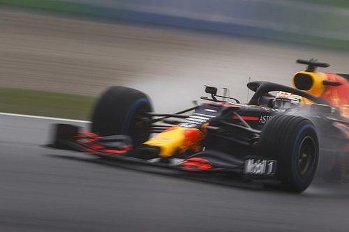 Vettel'in pite girmesi, Verstappen'in spinine katkıda bulunmuş