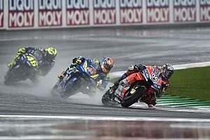 ドヴィツィオーゾ「新品タイヤを残しておいたことが勝利に繋がった」