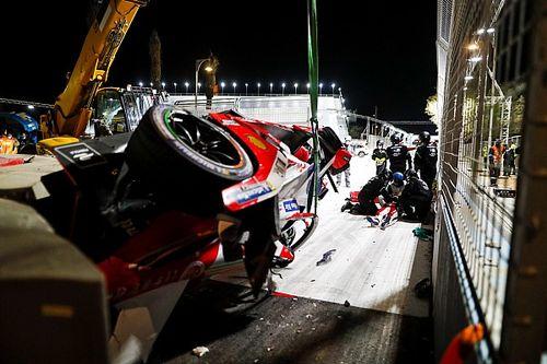 إيفانز يشرح حادثة لين العنيفة في سباق الدرعية الثاني للفورمولا إي