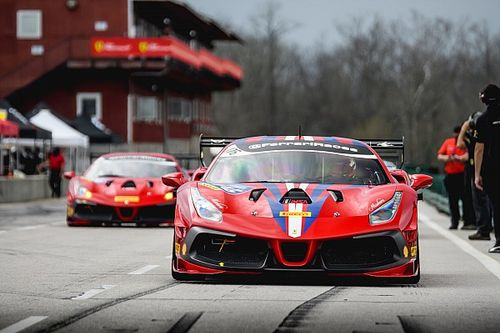 Ferrari Challenge NA completes opening race weekend at VIR