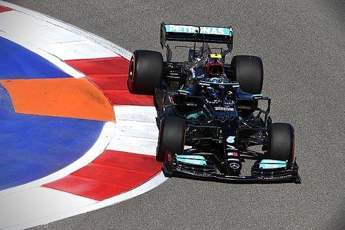 俄罗斯大奖赛FP2:博塔斯继续领先汉密尔顿,梅赛德斯高居前二