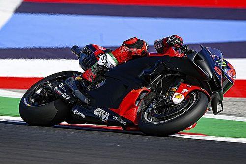 MotoGP-Test Misano Dienstag: Neue Bikes für 2022 bei Bestzeit für Bagnaia