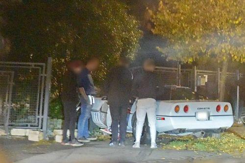Csúnya balesetet szenvedett egy Corvette Szombathelyen