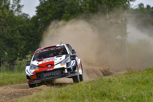 Estonia WRC: Katsuta withdraws as doctors advise co-driver to rest