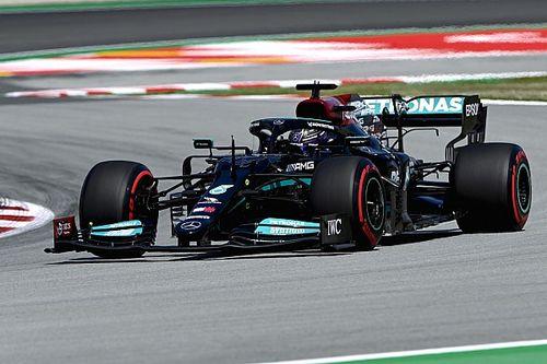 """Mercedes positief na """"beste vrijdag"""" van 2021 in Spanje"""