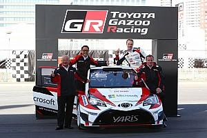 WRC 速報ニュース 【WRC】トヨタが目指す「プッシュせずに勝つクルマ作り」
