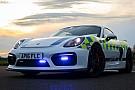 El nuevo deportivo de la policía británica