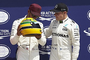 F1 Noticias de última hora Hamilton no recibió un casco original de carrera de Senna