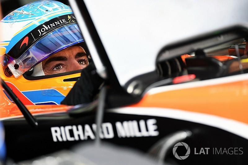 """Alonso : Ce sera """"dur"""" de finir dans les points"""