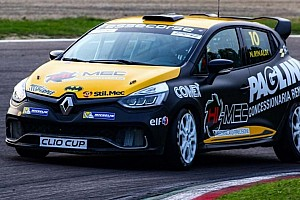 Clio Cup Italia Qualifiche Rinaldi centra una doppia pole ad Imola davanti a Sandrucci