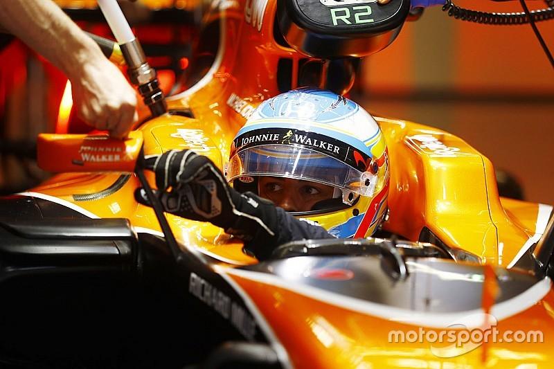 """Alonso: """"Lluvia o seco no nos afecta, la fiabilidad apenas nos deja rodar"""""""