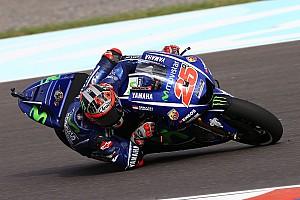 MotoGP Practice report Argentina MotoGP: Vinales stays ahead in FP2 as big names toil