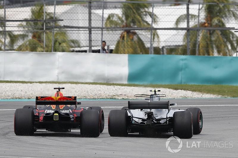 Ricciardo rendkívül precíz előzése Bottas ellen: bedarálta a finnt