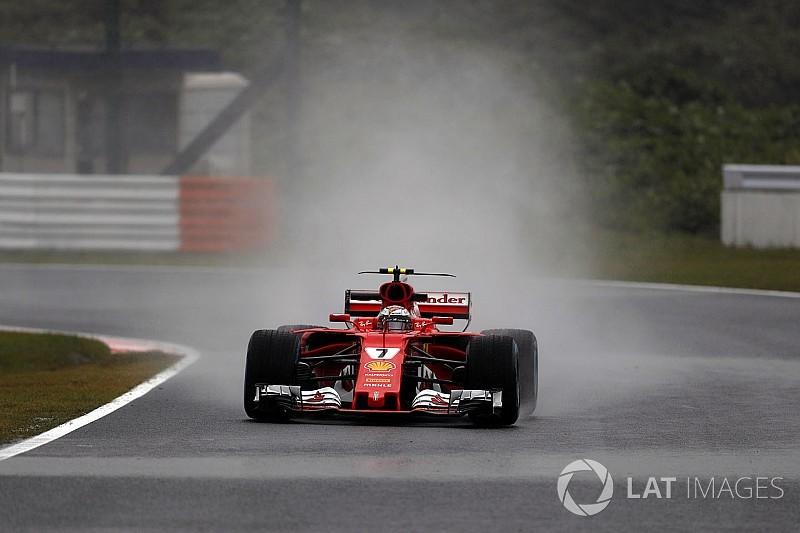 Heureux des EL1, Vettel et Räikkönen ont fait l'impasse sur la pluie