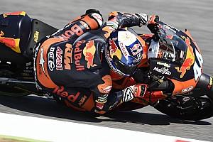 Moto2 Verslag vrije training Oliveira leidt de dans op vrijdagochtend in Barcelona