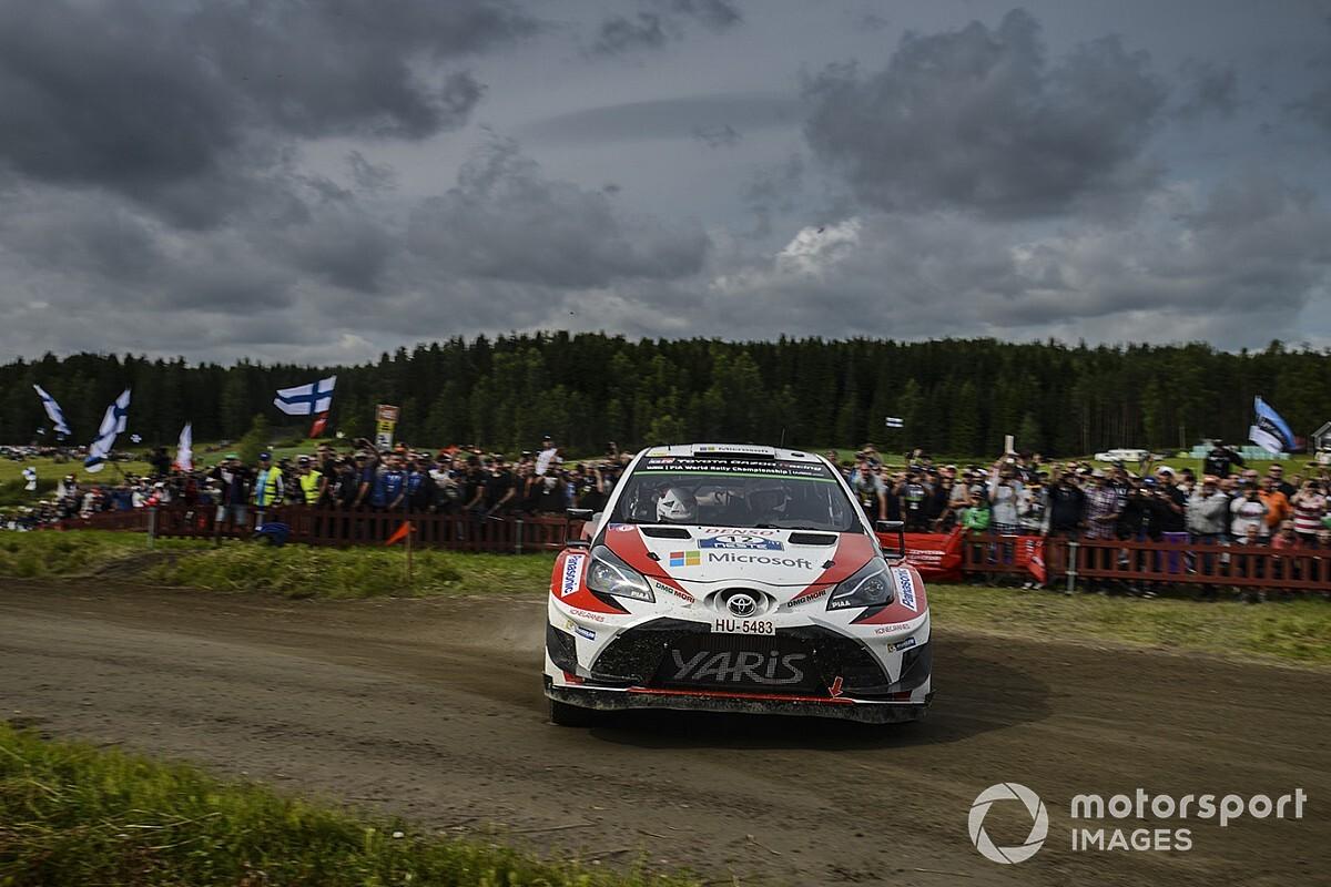 Ogier: Toyota jadi patokan di Finlandia