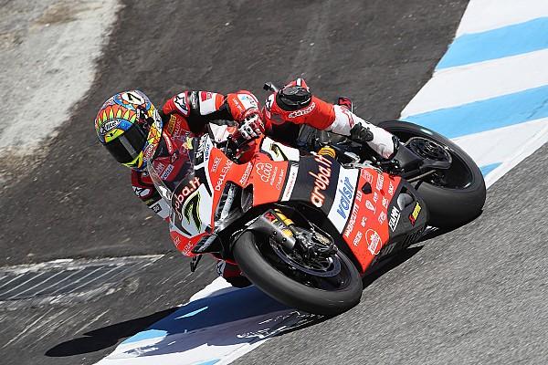 Superbike-WM WorldSBK Laguna Seca 1: Davies schlägt nach Horror-Crash von Misano mit Sieg zurück