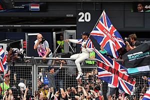 Formule 1 Contenu spécial L'histoire derrière la photo - King Lewis et son peuple