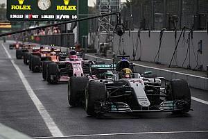 Formula 1 Hasil Grid start balapan GP Italia 2017
