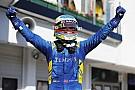 FIA F2 Rowland gana la primera carrera en Hungría