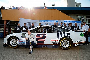 NASCAR Cup Qualifying report Keselowski takes Michigan pole in all-Penske front row