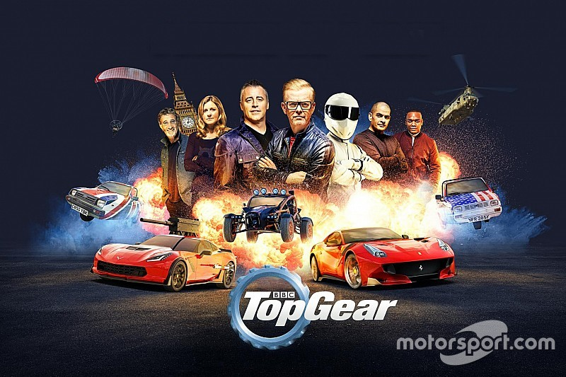 Video: Chris Harris neemt ons mee over het nieuwe Top Gear-circuit