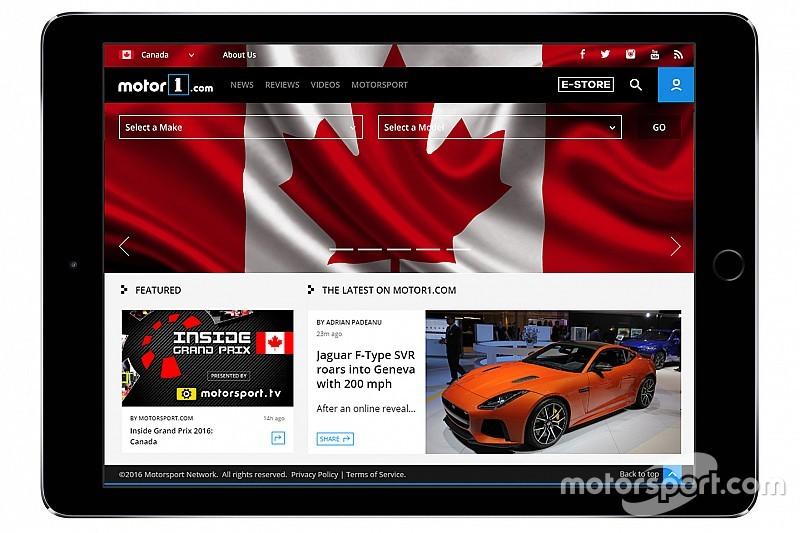 """""""موتور1.كوم"""" يطلق نسخته الرقمية الكندية بقيادة دايف بانكيو رئيساً للتحرير"""