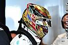 Hamilton a Mercedes hűtőjében