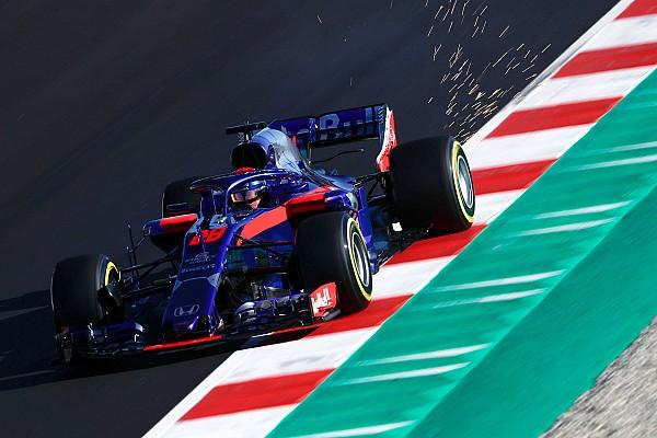 Formula 1 Fotogallery: la Toro Rosso STR13 nei Test 2 di F.1 a Barcellona