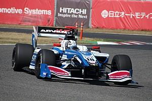 Super Formula Testing report Kobayashi leads Nakajima on first Super Formula test day