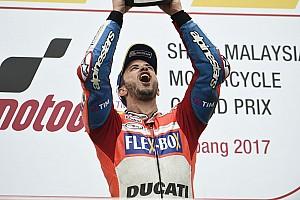 Rossi: Dovizioso genç sürücülerin acele etmemesi gerektiğini gösteriyor
