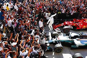 Формула 1 Отчет о гонке Хэмилтон выиграл в Остине и принес Mercedes Кубок конструкторов