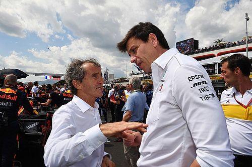 Wolff a demandé conseil à Prost sur sa rivalité avec Senna