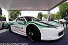 Auto Quand une Ferrari 458 Spyder de la Mafia se recycle... en voiture de police!