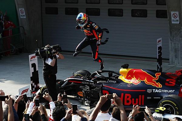 Chinese GP: Ricciardo storms to win as Verstappen hits Vettel