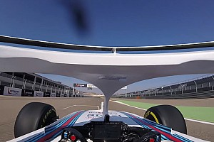 Formula 1 Special feature Onboard: Kubica di mobil Williams FW41 dengan halo