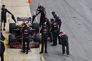Формула 1 Отчет о тестах Тесты Ф1 в Барселоне завершились под дождем, Риккардо остался лидером