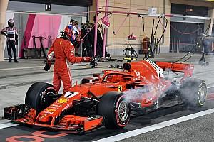 F1 突发新闻 莱科宁祝轮胎工早日康复,法拉利受重磅处罚