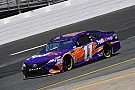 NASCAR Cup Denny Hamlin leads second Cup practice from NHMS