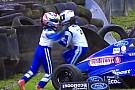 Fórmula 4 VÍDEO: companheiros brigam após acidente na F4 inglesa