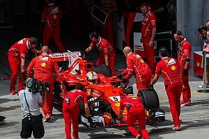 Формула 1 Комментарий В Ferrari изучат возможность еще одной замены мотора на машине Феттеля
