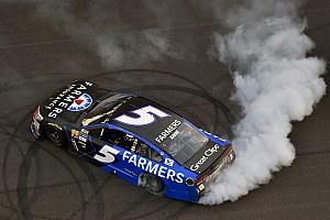 NASCAR Cup Rennbericht NASCAR in Indianapolis: Kasey Kahne gewinnt dramatisches Brickyard 400