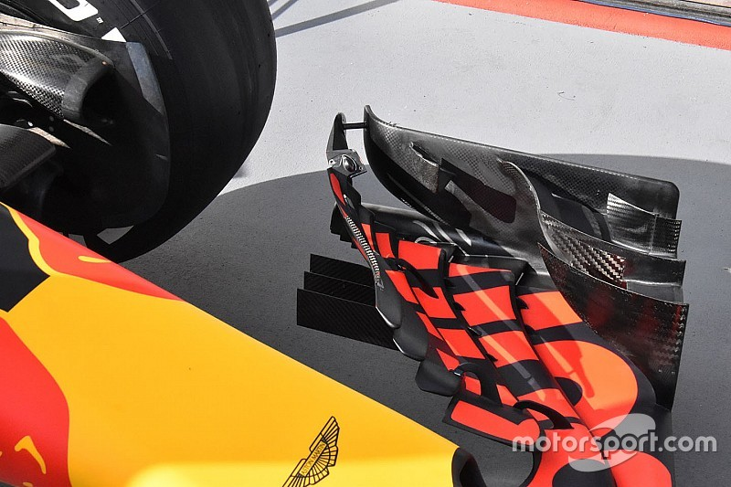 Red Bull, FIA'nın isteği üzerine ön kanadını güçlendirdi